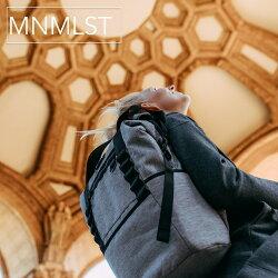 MNMLST/PACKNO.1/送料無料/ミニマリスト/リュックレディース/大人/軽量/リュック/リュックサック/ユニセックス/おしゃれ/通学/通勤リュック/ママバッグ/リュック黒/マザーズバッグリュック/シンプル