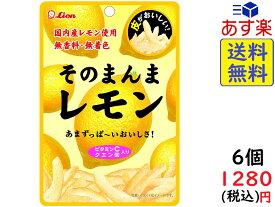 ライオン菓子 そのまんまレモン 25g ×6個 賞味期限2020/06