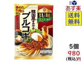 キッコーマン 具麺 韓国風すきやき プルコギ味 116g(2人前)×5個 賞味期限 2020/09/01