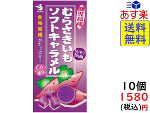 セイカ食品 むらさきいも ソフトキャラメル 14粒×10箱 賞味期限2021/08/30