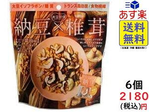 MDホールディングス 大豆習慣 納豆 (だし醤油味) × 椎茸 30g×6袋 賞味期限2021/08/03