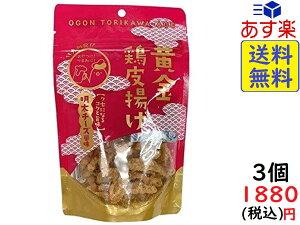 九州丸一食品 黄金鶏皮揚げ 明太チーズ風味 50g ×3袋 賞味期限2021/04/17