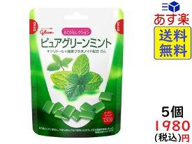 江崎グリコ エコセレクション ピュアグリーンミント 130g×5個