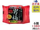 ノーベル 男梅 粒 14g×6個 賞味期限2020/04