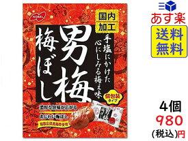 ノーベル 男梅 梅ぼし 52g×4個 賞味期限2022/02