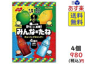 ノーベル みんなのたね ( 青りんご ・ レモン ・ コーラ ・ ソーダ ) 88g ×4個賞味期限2022/06