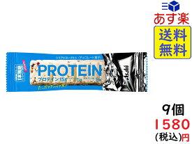 アサヒグループ食品 1本満足バープロテインヨーグルト 1本×9本 賞味期限2020/08