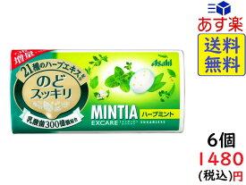 アサヒグループ食品 ミンティア エクスケア ハーブ 28粒 ×6個 賞味期限2021/02