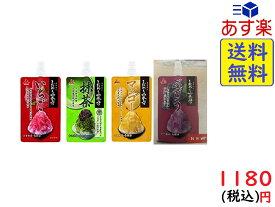 井村屋 かき氷シロップ 「 こだわりの氷みつ 」 4種セット (いちご・抹茶・マンゴー・ぶどう) 各150g 賞味期限2020/04/04