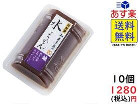 井村屋 和菓子屋の 水ようかん ( 練 ) 83g×10個 賞味期限2022/02/07