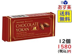 井村屋 チョコレートようかん 煉 55g×12個 賞味期限2020/05/21