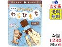 井村屋 もっちりぷるん わらびもち 黒糖 7本×4袋 賞味期限2021/12/10
