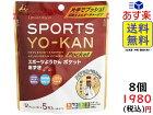 井村屋 スポーツようかん ポケット 5本 ×8袋 賞味期限2021/04/26