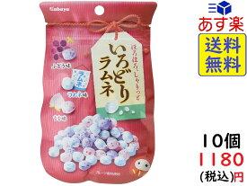 カバヤ食品 いろどりラムネ 40g ×10袋 賞味期限2022/01