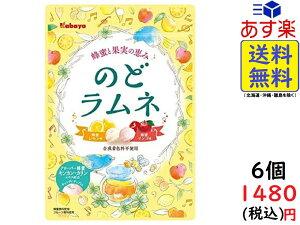 カバヤ のどラムネ 58g ×6袋 賞味期限2021/07
