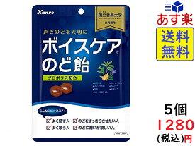 カンロ ボイスケアのど飴 70g×5袋 賞味期限2020/05