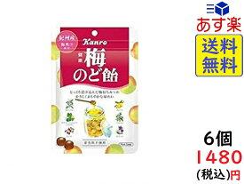 カンロ 健康梅のど飴 90g×6袋 賞味期限2020/05