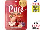 カンロ ピュレグミプレミアム 白桃&桜桃 63g ×6袋 賞味期限2021/05