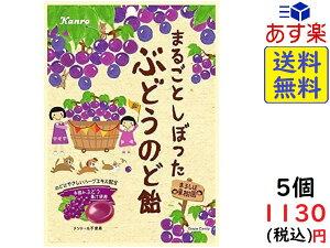 カンロ まるごとしぼったぶどうのど飴 80g ×5個 賞味期限2022/11