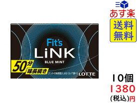 ロッテ Fit's LINK フィッツ リンク ブルーミント 12枚×10個