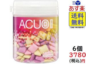 ロッテ ACUO Mini (クリアフルーツミックス) ファミリーボトル 140g ×6個