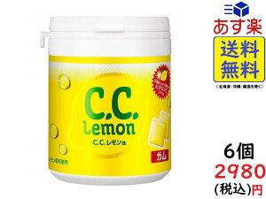 ロッテ C.C.レモンガム ファミリーボトル 138g ×6個 賞味期限2020/11