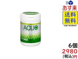 ロッテ ACUO アクオ グリーンミント スリムボトル 125g ×6個