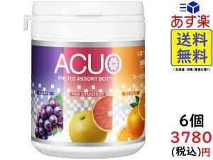 ロッテ ACUO 3種アソートボトル 140g ×6個