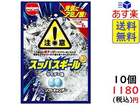 明治チューインガム スッパスギールサイダー 25g ×10袋 賞味期限2021/08