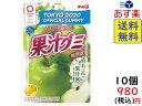 明治 果汁グミ 青りんご 47g ×10袋