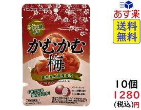 三菱食品 かむかむ梅 30g×10個 賞味期限2021/10