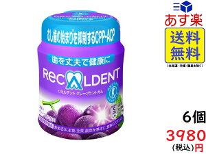 モンデリーズ・ジャパン リカルデント グレープミントガム ボトル 140g×6個入 賞味期限2020/09