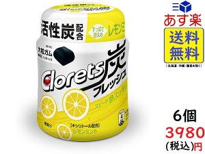 モンデリーズ クロレッツ炭フレッシュ レモンミントボトル 127g ×6個