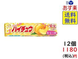 森永製菓 ハイチュウ 黄金の桃 12粒×12本 賞味期限2020/07