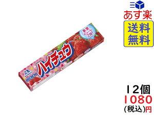 森永製菓 ハイチュウ ストロベリー 12粒×12個 賞味期限2021/03
