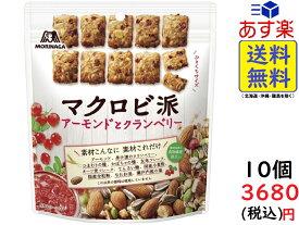 森永製菓 マクロビ派 アーモンドとクランベリー 100g ×10袋 賞味期限2021/05