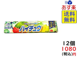 森永製菓 ハイチュウ クラウンメロン味&熊本県産スイカ味 12粒×12個 賞味期限2021/05