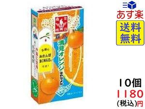 森永製菓 清見オレンジキャラメル 12粒 ×10箱賞味期限2022/02