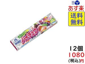 森永製菓 ハイチュウ ドーナツピーチ&すもも 12粒 ×12個 賞味期限2021/08