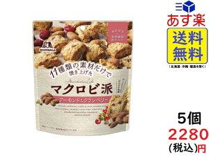 森永製菓 マクロビ派 アーモンドとクランベリー 100g ×5袋 賞味期限2021/11