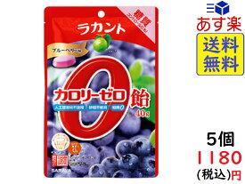 SARAYA ラカント カロリーゼロ飴 ブルーベリー味 40g ×5個 賞味期限2022/07/20