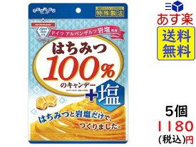 扇雀飴 はちみつ100% のキャンデー + 塩 50g×5袋 賞味期限2021/07