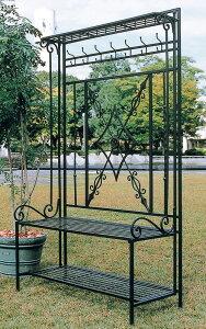 パレットラック(32318)(ジャービス商事)エクステリア ガーデンアーチ ガーデニング 園芸 庭造り フラワーラック インテリア アイアン