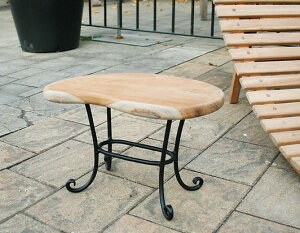 ミニマンゴーテーブル(34229)(ジャービス商事)ガーデンファニチャー ガーデン家具 ガーデンテーブル 机 チーク 木製