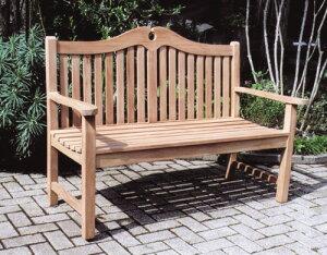 マウンテンベンチ(36348)(ジャービス商事)ガーデンファニチャー ガーデン家具 ガーデンベンチ ガーデンチェア 椅子 イス チーク 木製