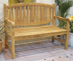 オファルベンチ(35207)(ジャービス商事)ガーデンファニチャー ガーデン家具 ガーデンベンチ ガーデンチェア 椅子 イス チーク 木製