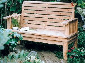 スネイルベンチ(20860)(ジャービス商事)ガーデンファニチャー ガーデン家具 ガーデンベンチ ガーデンチェア 椅子 イス チーク 木製
