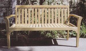 スタッキングベンチ(36319)(ジャービス商事)ガーデンファニチャー ガーデン家具 ガーデンベンチ ガーデンチェア 椅子 イス チーク 木製