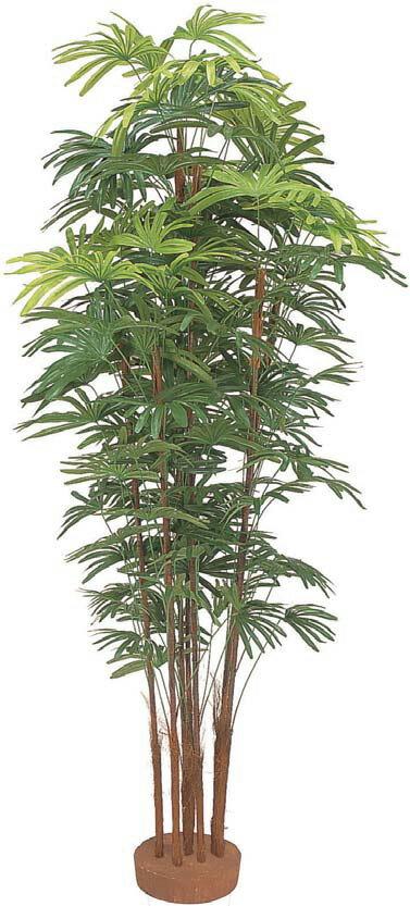 人工植物 シュロチク7本立 鉢無 1.8m GD-126L(21551500)(タカショー)送料無料 観葉植物 人工樹 室内用 インテリア グリーンデコ