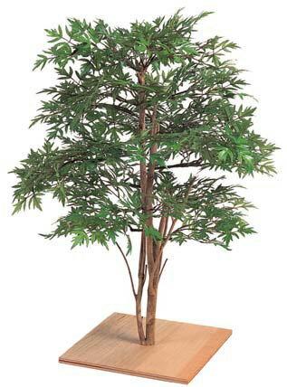 人工植物 グリーンデコ和風 ミニもみじ 60cm GD-73N(21613000)(タカショー)送料無料 人工樹 観葉植物 室内用 インテリア